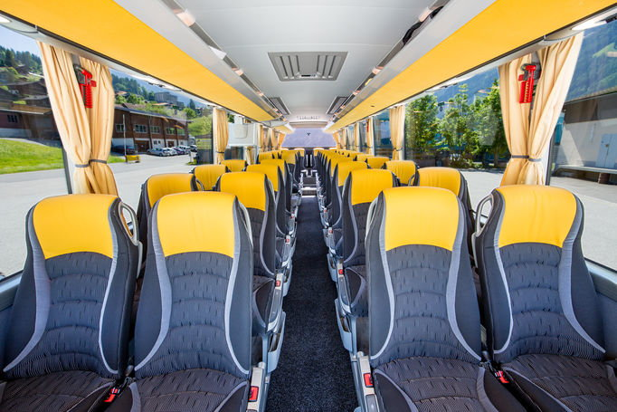 Zoom: Grindelwald Bus | Setra 511 | Innenraum