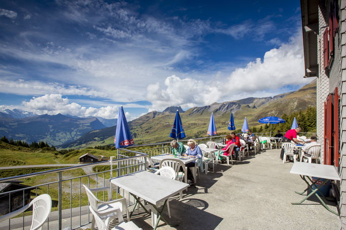 Zoom: Mountain restaurant Grosse Scheidegg